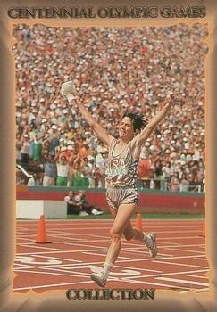 Joan Benoit-Samuelson Trading Card (Marathon Champion) 1996 Collect-A-Card Centennial Olympic Games -