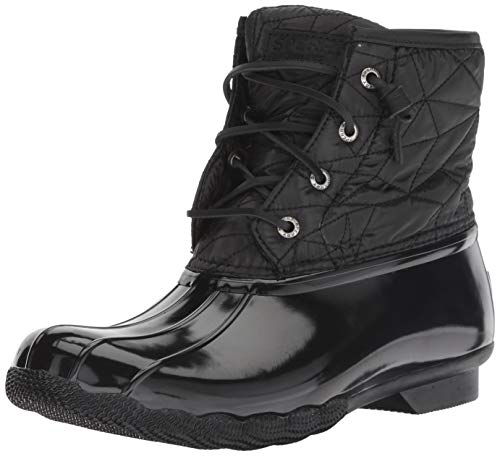 Sperry Womens Saltwater Nylon Quilt Rain Boot