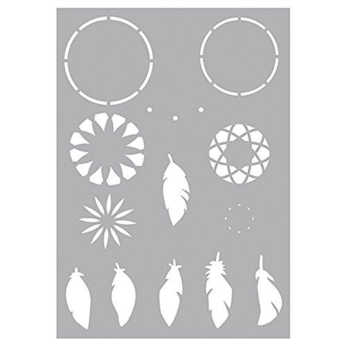 (Efco Dream Catcher 9320947Stencil Stencil-Plastic-29-7x 21x 0.1cm)