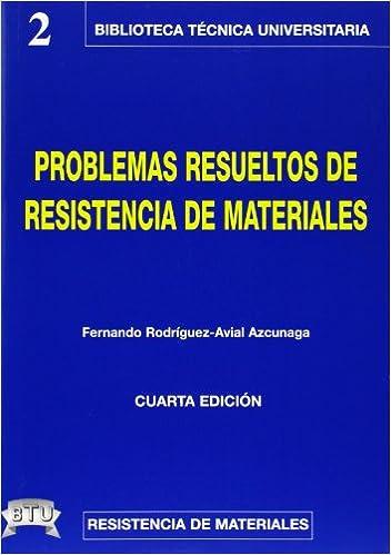 Problemas resueltos de resistencia de materiales