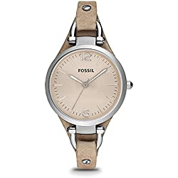 Fossil Women's Watch with Leather Band