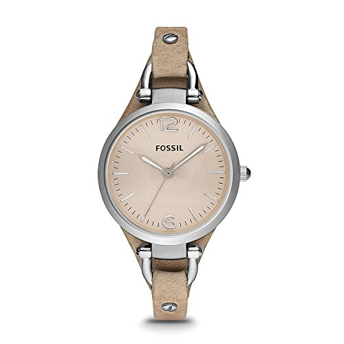 fossil women watches brown dial - 5