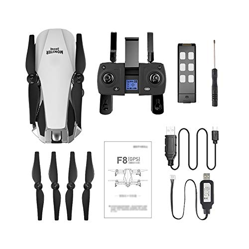 F8 GPS Plegable RC Drone 2K Cámara Sin escobillas Retorno ...