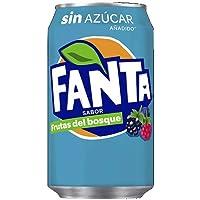 Fanta Frutas del Bosque zero azúcar Lata