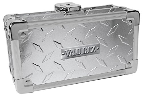 Vaultz Locking Sports Sunglass Case, Treadplate (VZ00722)