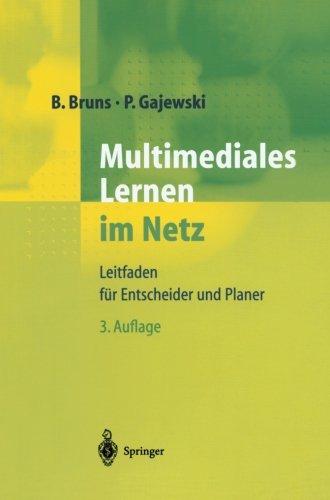 Multimediales Lernen im Netz: Leitfaden für Entscheider und Planer (German Edition) by Springer