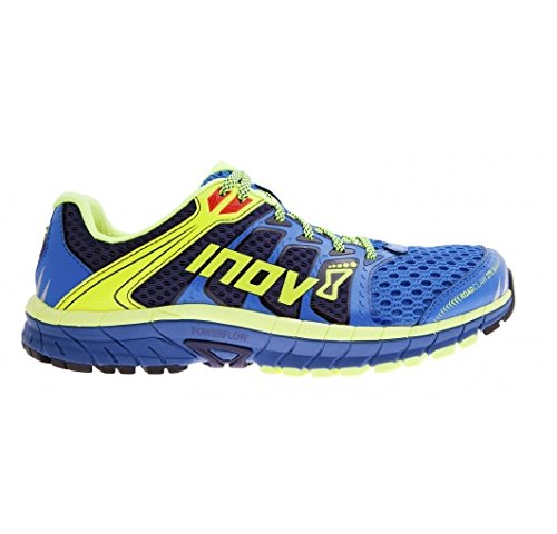 Inov-8 Men's Road Claw 275 Road Running Shoe, Blue/Lime/Navy, 11.5 D US