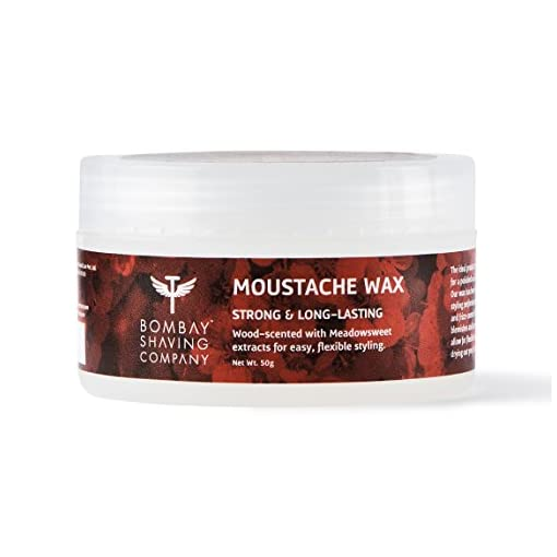Bombay Shaving Company Moustache Wax 50 G Wood Scented
