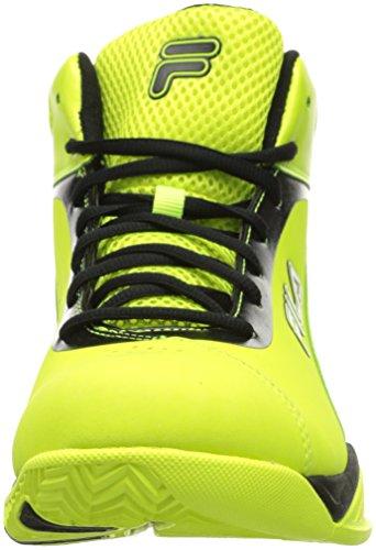 Fila Mens kontingent Basketballschuh Sicherheit gelb / schwarz