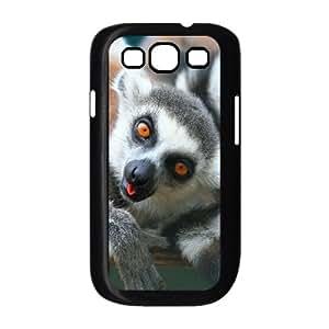 ALICASE Diy Back Case Lemur For Samsung Galaxy S3 i9300 [Pattern-1]