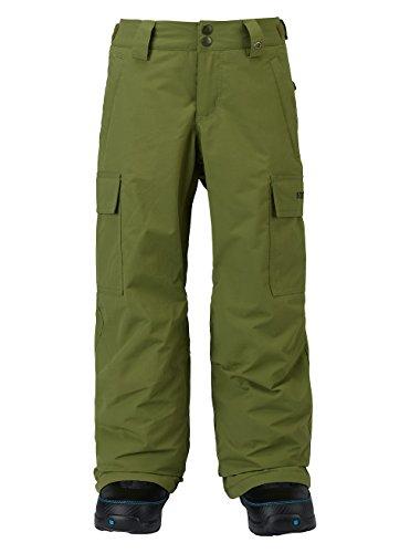 - Burton Boys Exile Cargo Pants, Olive Branch, Large