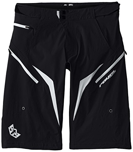 Royal Racing Stage Shorts, Black/White, XX-Large by Royal Racing