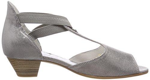 Pulsera Mujer para Sandalia Gabor Gris con Grey Comfort Basic Shoes TgnFqX0