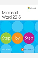 Microsoft Word 2016 Step By Step Kindle Edition