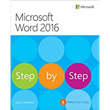 Microsoft Word 2016 Step By Step: MS Word 2016 S by Step _p1