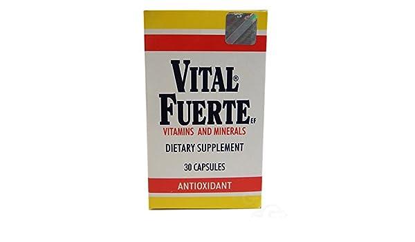 Amazon.com: Vital Fuerte Vitamins Capsules 30.0 CT: Health & Personal Care