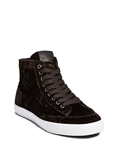 Guess Men's MALDEN2 Sneaker, Brown, 9 Medium - Guess Men Sale