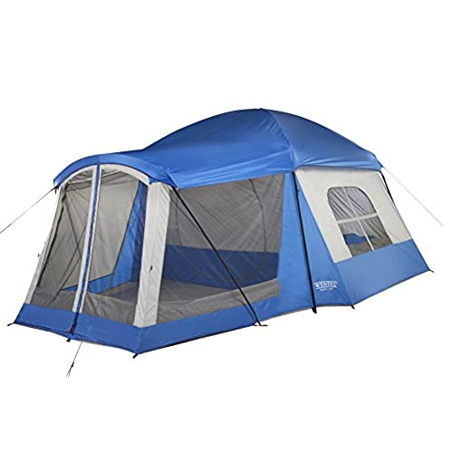 Wenzel 8 Person Klondike Tent Blue  sc 1 st  Amazon.com & Tents with Porch: Amazon.com