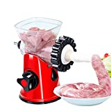 AllinOne 4-In-1 Meat Grinder And Vegetable Grinder/Mincer, Sausage Stuffer For Sausage Maker Or Hamburger Meat Grinder