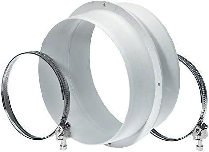 Miele dasdv150 Campana accesorios/Conexión Element (para campana extractora, conector entre Silenciador y conector del surtidor): Amazon.es: Grandes electrodomésticos