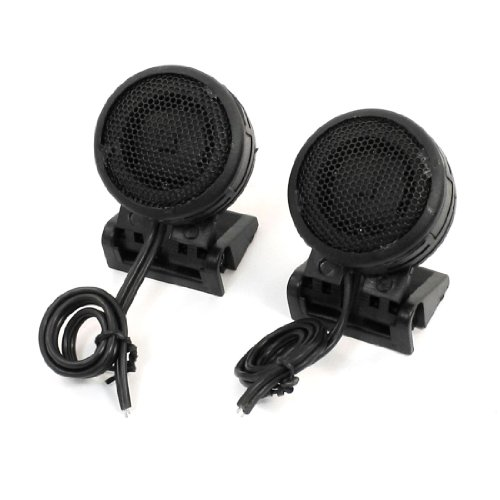 - uxcell 2 Pcs Car Round Surface Mount Dome Loud Speakers Tweeters 300W 100dB DC 12V