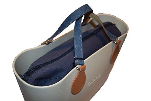 Borsa o bag mini color salvia bordo lino orange/lurex manici corti saffiano 3