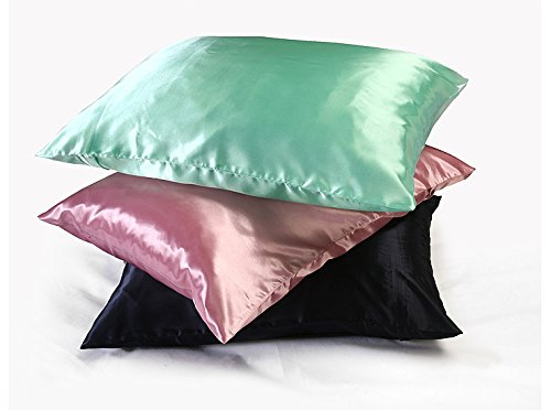 Shop Bedding Luxury Satin Pillowcase For Hair Standard