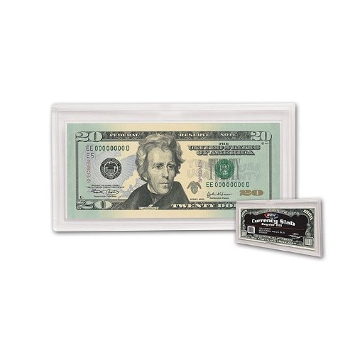 2 BCW DELUXE CURRENCY SLAB - REGULAR BILL