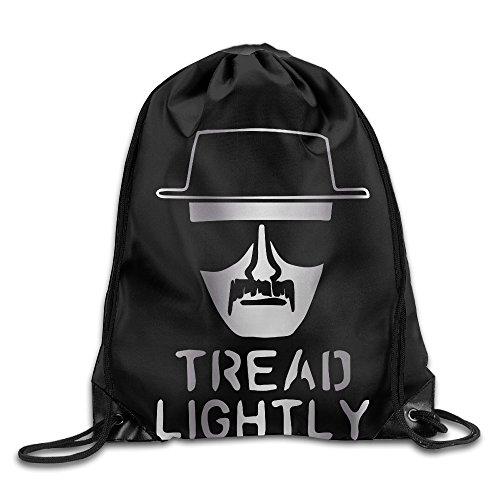 Outdoor Heisenberg Tread Lightly Platinum Style Drawstring Backpack