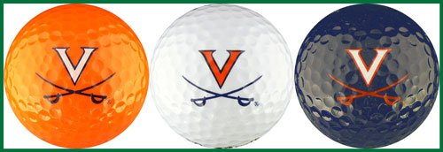 University of Virginia Golf Ball Gift Set Virginia Cavaliers Golf Ball