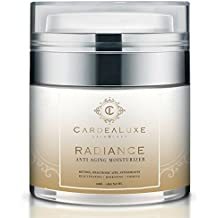 Anti Aging Face Moisturizer & Eye Cream with Natural Retinol, Hyaluronic Acid & Vitamin C. Boosts Collagen for Skin Tightening, Neck Firming & Radiant Skin. Best Organic Night Wrinkle Cream for Women