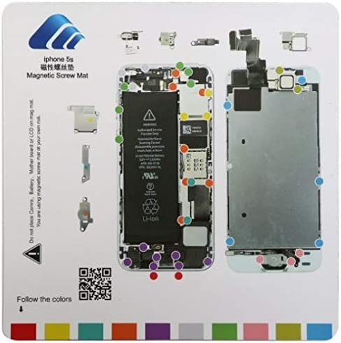 CDMA /& GSM with Glue Card ScrewMat for Apple iPhone 5C