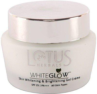Lotus Herbals White Glow Skin Whitening and Brightening Gel Cream SPF-25, 60g