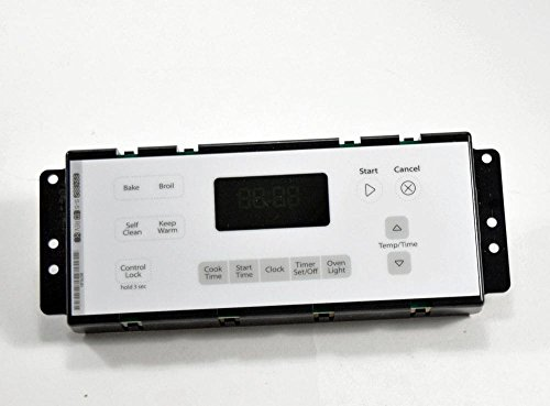 - Whirlpool W10348710 Range Oven Control Board and Clock Genuine Original Equipment Manufacturer (OEM) Part