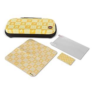 PowerA Protection Case Kit for Nintendo Switch Lite - Pokemon Checkerboard: Yellow