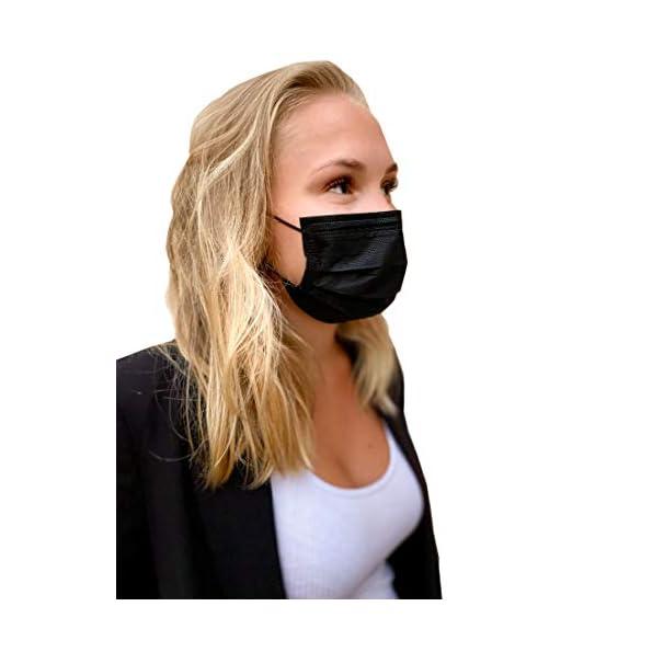 BLACK-SHIELD-CE-Zertifiziert-Schwarze-Medizinische-Gesichtsmaske-gem-DIN-EN-14683-Typ-I-BFE–95-50-Stck