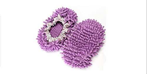 Pantofole Taglia Pulizia Purple Dark Josep Mop Unica Accessori Pink H Di Light Lazy Scarpe Home qnPwt1