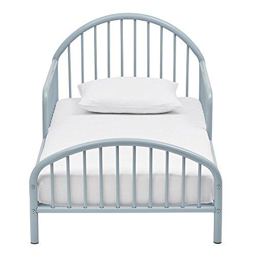 Novogratz Prism Metal Toddler Bed, Blue by Novogratz