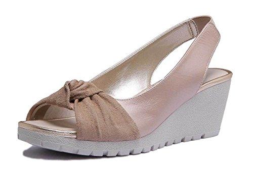 Gold Flexx Matt The Lamu Gold Sandal Leather Womens SOvdqndwt