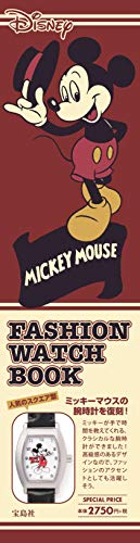 MICKEY MOUSE FASHION WATCH BOOK 画像