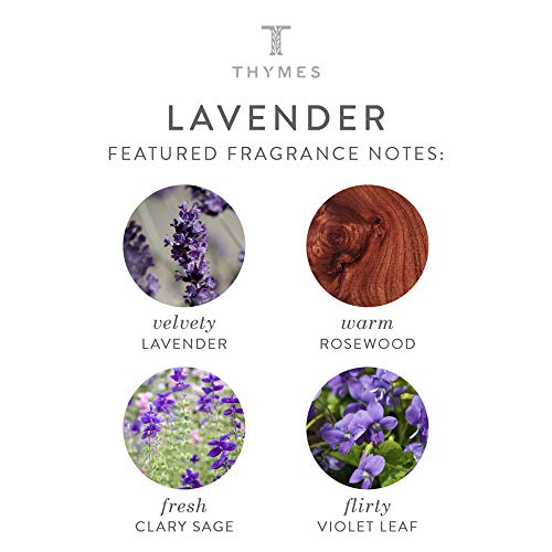 Thymes - Lavender Hand Lotion with Pump - 8.25 oz by Thymes (Image #2)