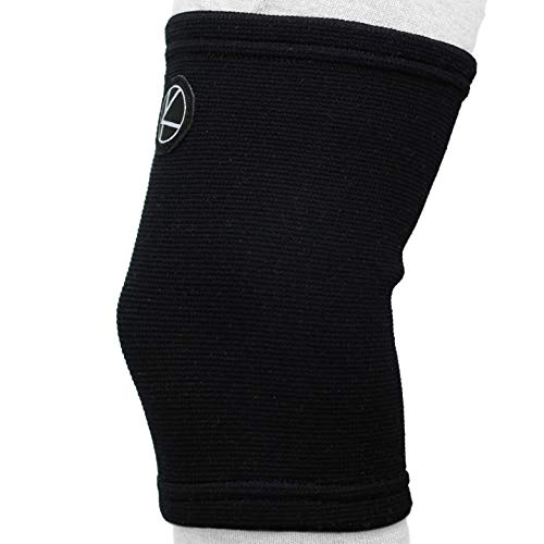 Kids Knee Sleeve for Sports & Kids Knee Brace for Osgood-Schlatter- Best Knee Support for Girls, Boys, Football, Pain, Basketball, Tendonitis, Dance, Gymnastics, Arthritis, ACL, MCL, LCL (Black)