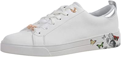 White Narnia Sneakers Shoes Sz: 8.5