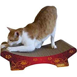 Imperial Cat Zen Scratch and Shape, Modern Red