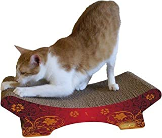 product image for Imperial Cat Zen Scratch 'n Shape, Modern Red