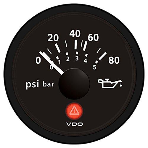 VDO A2C53413151-S Oil Pressure Gauge (Vdo Oil Pressure Sender)