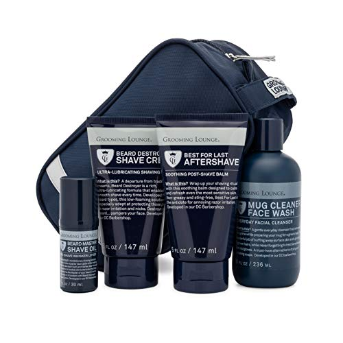 (Grooming Lounge Greatest Shave Ever 4-Piece Kit – The Best Men's Shaving Kit On The Planet.)