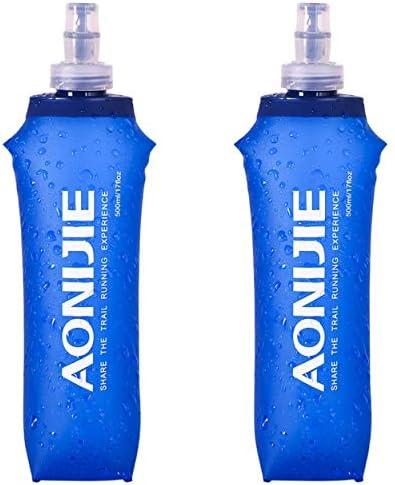 TRIWONDER TPU 折りたたみ 水筒 ボトル ウォーターボトル スポーツボトル ランニング マラソン サイクリング 登山 ハイドレーション ソフトボトル Soft Water Bottle