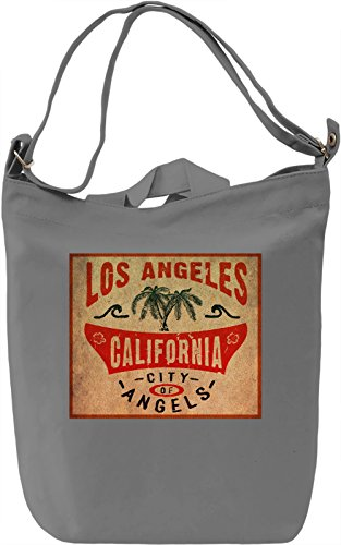 California Emblem Borsa Giornaliera Canvas Canvas Day Bag| 100% Premium Cotton Canvas| DTG Printing|