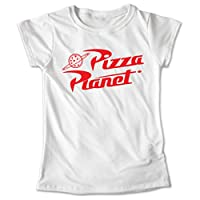 Blusa Dama Niña Playera Forky Toy Story 4 Pizza Planeta Estampado #630